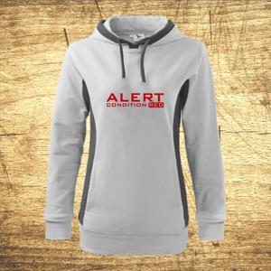 Dámska mikina s motívom Alert – condition red