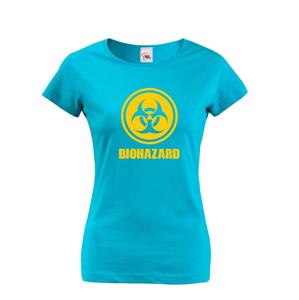 Dámske tričko Biohazard - ideálne pre Geekov a hráčov počítačových hier