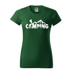 Dámske tričko Camping - ideálne tričko na kempovanie