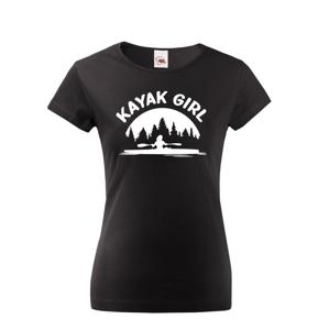 Dámske tričko Kayak Girl - ideálne dámske tričko na vodu