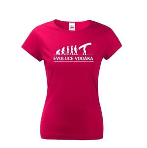 Dámske tričko pre vodáčky Evolúcia vodáka - super tričko pre vodáčky