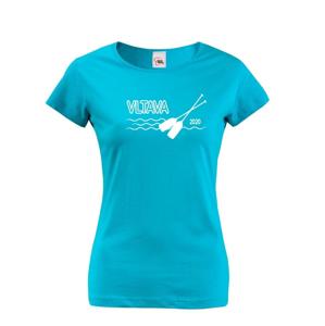 Dámske tričko pre vodáčky s voliteľnou riekou a rokom