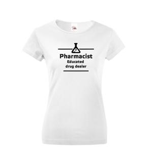 Dámské tričko pro lékarnice - originální motiv