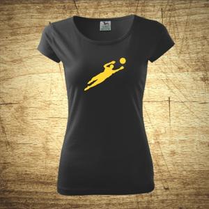 Dámske  tričko s motívom Brankár