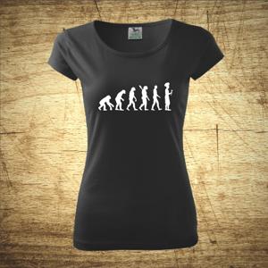 Dámske tričko s motívom Chef evolution