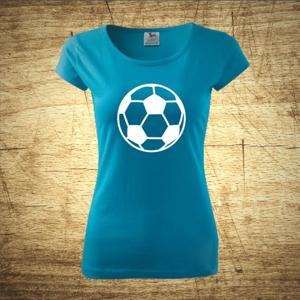 Dámske  tričko s motívom Futbal 3