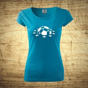 Dámske  tričko s motívom Futbal 4