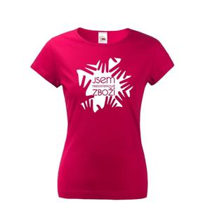 Dámské tričko s potiskem Nedostatkové zboží