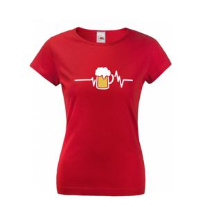 Dámské tričko s potiskem pivo pro každou příležitost