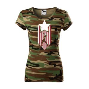 Dámske tričko s potlačou Kapitán Amerika - Captain America