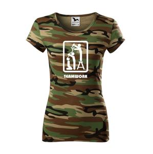 Dámske tričko Teamwork - ideálne pre kamarátky
