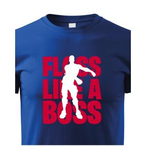 Detské Fortnite tričko Floss like Boss - ideálne pre malých hráčov