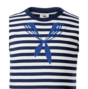 Detské tričko  na vodu Námornícky golier - ideálne tričko pre malých vodákov