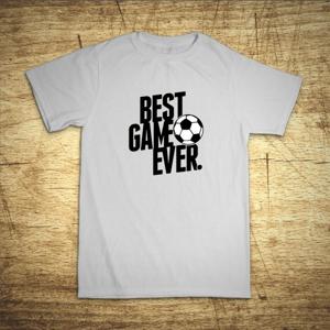 Detské tričko s motívom Best game ever