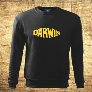 Mikina s motívom Darwin