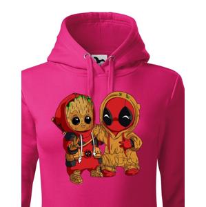 Pánska mikina Deadpool a Groot - super darček