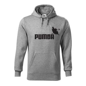 Pánska mikina s potlačou Pumba - originálny darček k narodeninám