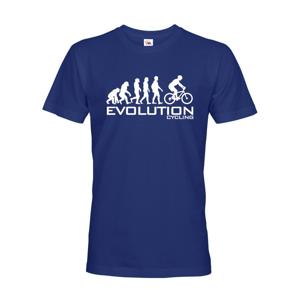 Pánske cyklo tričko Evolúcia cyklistiky. Najobľubenější motív v kategorií.