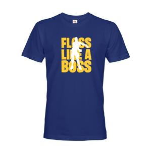 Pánske Fortnite tričko Floss like Boss - ideálne tričko pre hráčov