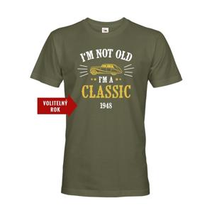 Pánske narodeninové tričko  I'm Not Old I'm A Classic