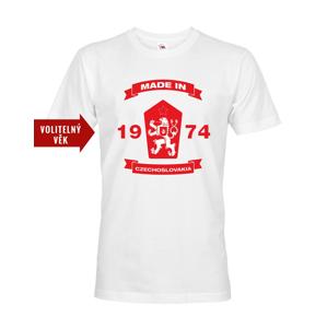 Pánske retro tričko s levom a znakom ČSSR - doprava len 2,23 Euro