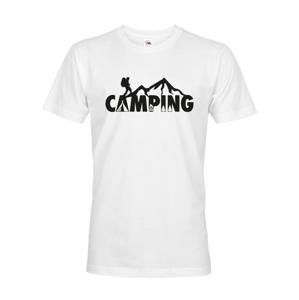 Pánske tričko Camping - ideálne tričko na kempovanie