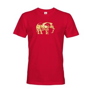 Pánské tričko  Elephant - Ideálne tričko pre cestovateľov
