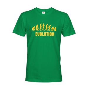 Pánské tričko Evoluce IT - ideální dárek pro všechny Ajťáky