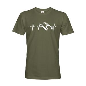 Pánské tričko - Freestyle koloběžka - ideálny darček