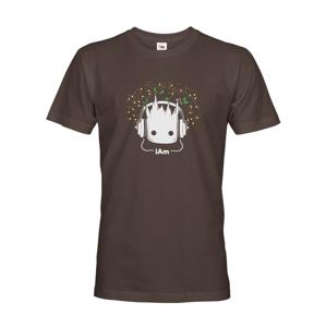Pánske tričko Groot z filmu Strážcovia galaxie - Ja som Groot na tričku