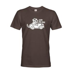 Pánske tričko Jazdím ako prasa - ideálnyí darček pre každého šoféra