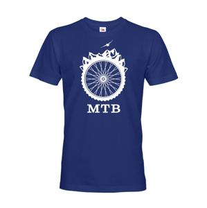 Pánske tričko MTB - pre milovníkov horských bicyklov nutnosť