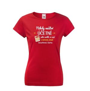 Pánske tričko - Nikdy neštvi účtovníka