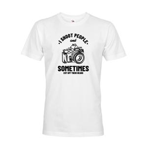 Pánske tričko pre fotografov - I Shoot People