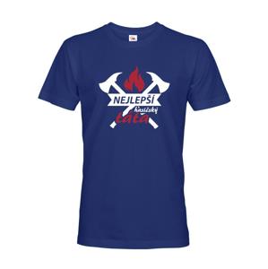 Pánske tričko pre hasičov Hasičský otec