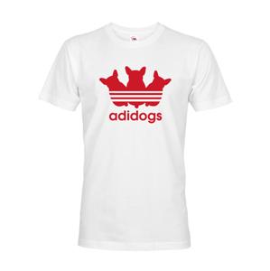 Pánske tričko pre psíkarky s motívom Adidogs