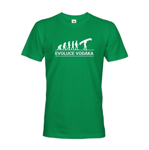 Pánske tričko pre vodákov Evolúcia vodáka - super tričko pre vodákov