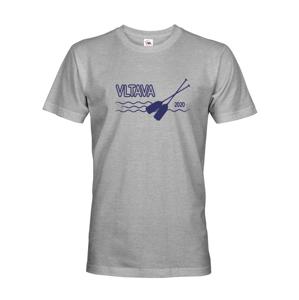 Pánske tričko pre vodákov s voliteľnou riekou a rokom