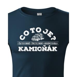 Pánske tričko pre vodiča kamiónu / Kamioňák - ideálny darček