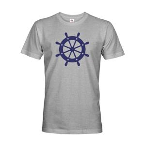 Pánske tričko pre zadákov - tričko na vodu pre kapitána lode