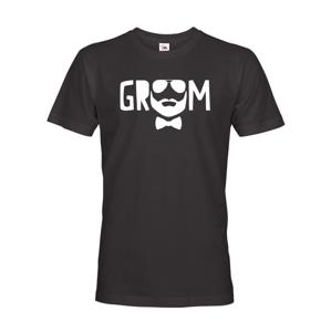Pánske tričko pre ženícha Groom - ideálne tričko na rozlúčku