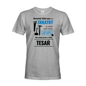 Pánské tričko pro tesaře - ideální narozeninový dárek