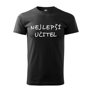 Pánské tričko pro učitele s motivem Nejlepší učitel