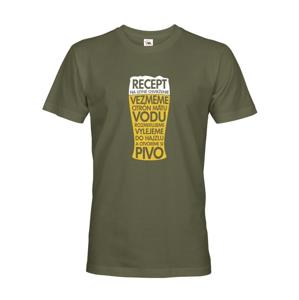 Pánske tričko Recept na letné osvieženie