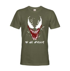 Pánske tričko s potlačou Venom od Marvel - ideálny darček pre fanúšikov