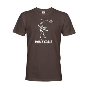Pánske tričko s Volejbalovým motívom