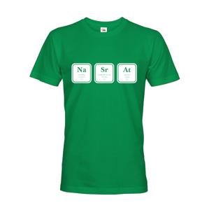 Pánské tričko s vtipným potiskem NaSrAt - triko jen pro odvážné