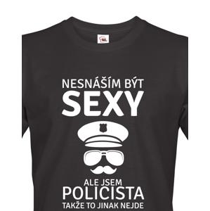 Pánské tričko Sexy policista - to musíte mít