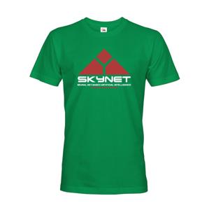 Pánske tričko SKYNET - motív z obľúbenej série Terminátor