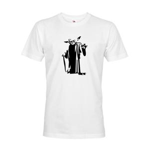 Pánske tričko Star Wars Majster Yoda - k Vianociam alebo narodeninám